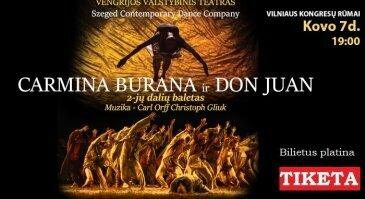 """Carmina Burana""&""Don Juan"".Baletas.VENGRIJOS VALSTYBINIS TEATRAS"