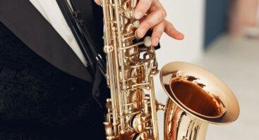 Muzikinis vakaras su saksofono garsais