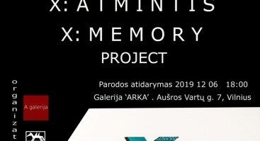 """Projektas """"X: Atmintis"""""""
