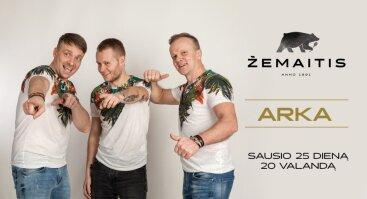 "Muzikinis vakaras su grupe ""Arka"""