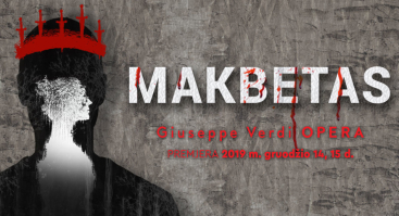 "Giuseppe Verdi opera ""Makbetas"""
