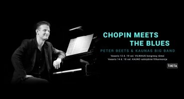 Chopin Meets The Blues. Peter Beets & Kaunas Big Band