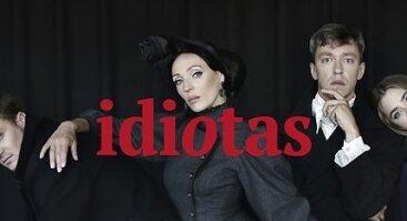 """Anželikos Cholinos šokio teatro spektaklis  """"Idiotas"""""""