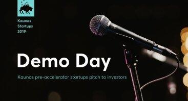 Demo Day: Kaunas Startups Pitch to Investors