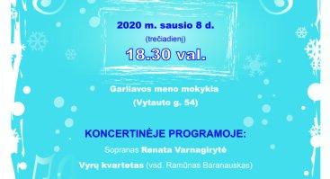 """Vokalinio ansamblio """"C.re.do"""" prisistatymo koncertas Garliavoje"""