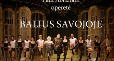 Paul Abraham operetė BALIUS SAVOJOJE