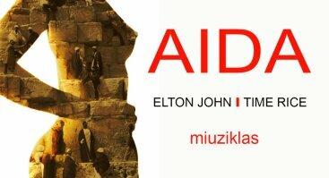 Elton John ir Time Rice miuziklas AIDA