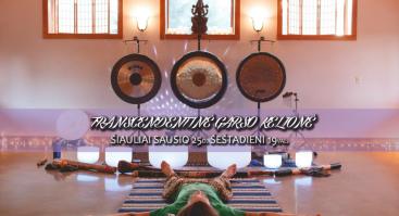 Gongų Maudynės - Transcendentinė Garso Kelionė Šiauliuose