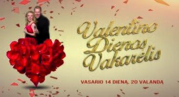 Valentino diena. Violetos ir Viliaus Tarasovų muzikinis vakaras