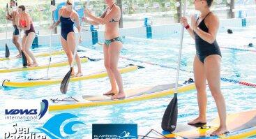 Irklenčių užsiėmimai Klaipėdos baseine