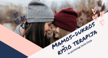 Mamos-dukros ryšio terapija
