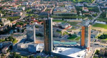 Ekskursija: išmanusis Konstitucijos pr. - dangoraižių miestas