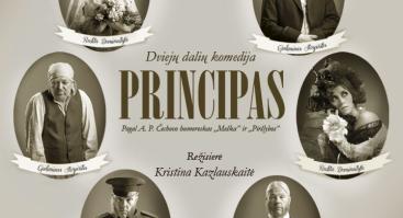 """2 dalių komedija ,,Principas"""" (rež. Kristina Kazlauskaitė)"""