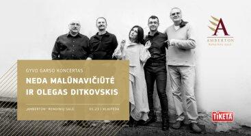 """Neda ir Olegas Ditkovskis su grupe: """"Muzikiniai monologai"""" I 01.23"""