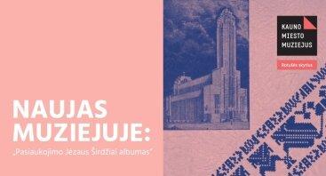 """Naujas muziejuje: """"Pasiaukojimo Jėzaus Širdžiai albumas"""""""