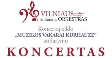 Vilniaus muzikos mėgėjų simfoninio orkestro koncertas