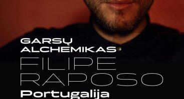 Garsų alchemikas Filipe Raposo   Raudondvaris