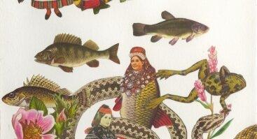 """Australų menininkės Jazminos Cininas paroda """"Eglė ir vilkmergės"""""""