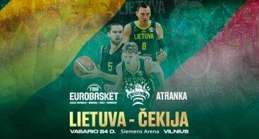 EUROBASKET 2021 ATRANKOS rungtynės: LIETUVA – ČEKIJA
