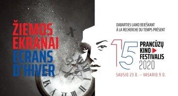 """15-asis prancūzų kino festivalis """"Žiemos ekranai"""""""