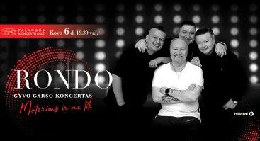 RONDO gyvo garso koncertas | Palanga. Skirtas moters dienai