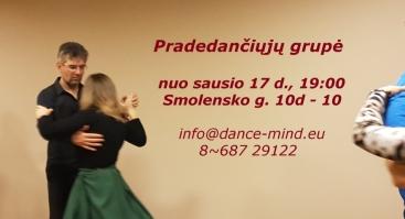 Intensyvios tango pamokos pradedantiesiems