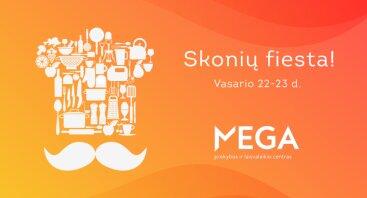 Maisto festivalis: Skonių Fiesta!