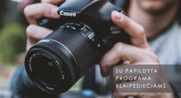 "Fotografijos seminaras ""Ekspozicija ir fototechnika"", Klaipėdoje"