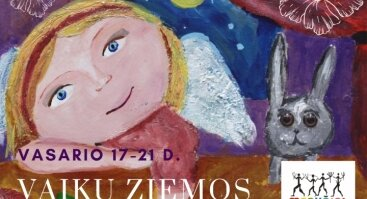 Žiemos stovykla vaikams - paveikslas Laimės angelas