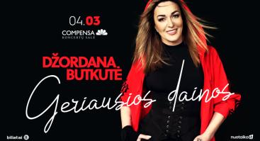 Džordana Butkutė – Geriausios dainos | Vilnius