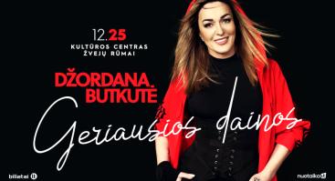 Džordana Butkutė - Geriausios dainos | Klaipėda