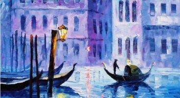 """Tapybos popietė """"Paslaptingoji Venecija"""""""