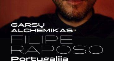 Garsų alchemiko Filipe Raposo koncertas