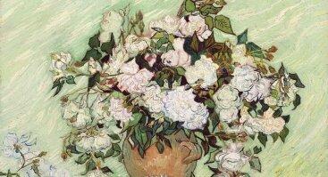 """Diena su tapyba """"Baltos rožės"""" 50x70"""