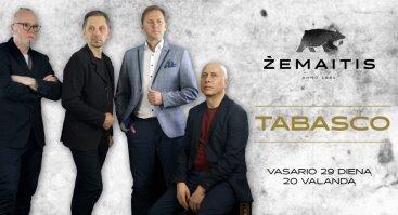"""Gyvos muzikos vakaras su grupe """"Tabasco"""""""