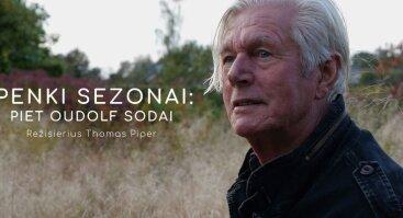 """Kino filmo """"Penki sezonai: Piet Oudolf sodai"""" peržiūra"""