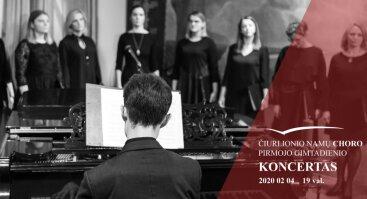 Čiurlionio namų choro pirmojo gimtadienio koncertas