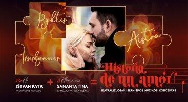 Teatralizuotas ispaniškos muzikos koncertas ,,HISTORIA DE UN AMOR