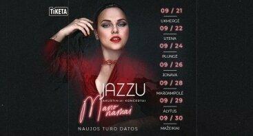 """Jazzu – akustinis koncertas """"Mano namai"""""""