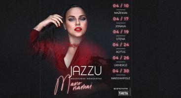 """Jazzu - akustinis koncertas """"Mano namai"""""""
