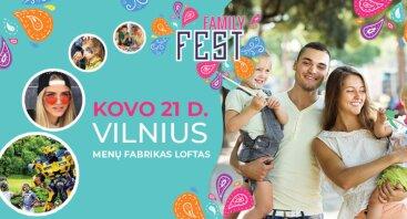 """""""Family Fest"""" Vilnius - unikalus miesto festivalis šeimai"""