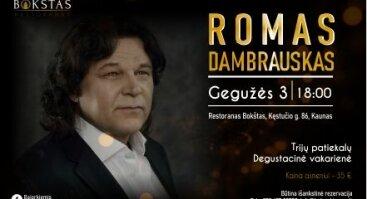 Romas Dambrauskas - Bokštas Restorane!