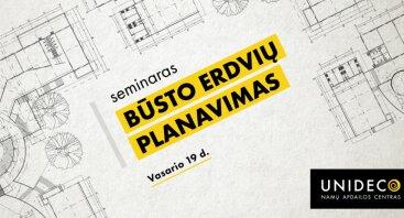 Seminaras: būsto erdvių planavimas