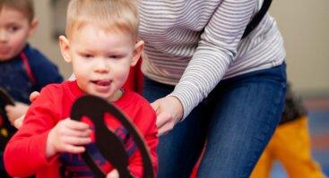 Sporto kelionė 2-3 metų vaikams
