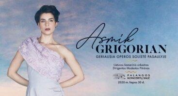 Asmik Grigorian su orkestru | Palanga