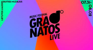 "Muzikos festivalis ""Granatos Live"""