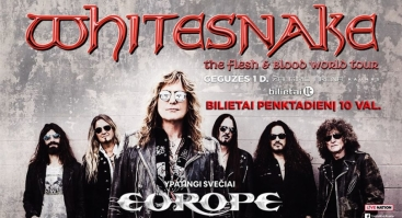 Whitesnake & Europe - Kaunas