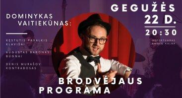 Dominykas Vaitiekūnas: Brodvėjaus programa // Vilnius