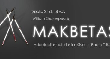 """William Shakespeare """"MAKBETAS"""""""