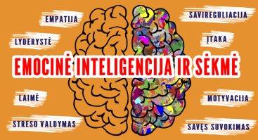 Mokymai: Emocinė inteligencija ir sėkmė